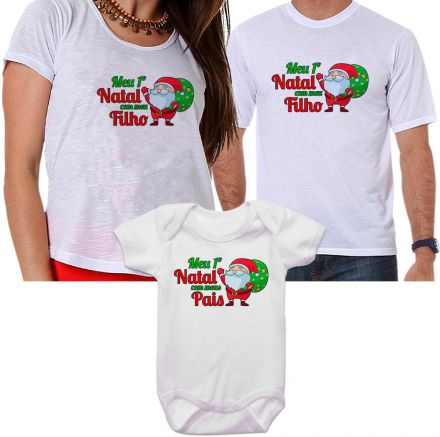 Camisetas e Body de Natal FN0126