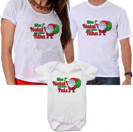 Camisetas e Body de Natal FN0127