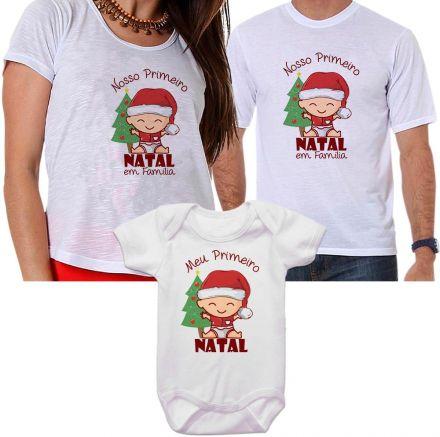 Camisetas e Body de Natal FN0131