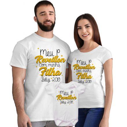 Camisetas e Body Meu Primeiro Ano Novo FN0048