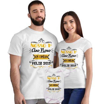 Camisetas e Body Meu Primeiro Ano Novo FN0058