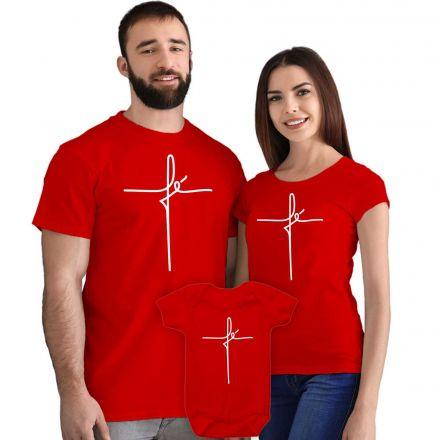 Camisetas e Body Meu Primeiro Natal Vermelho 100% Algodão FN0136