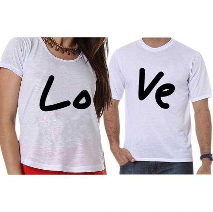 Camisetas Love Casal
