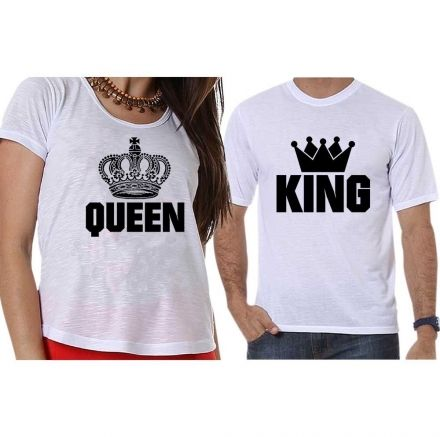 Camisetas Queen And King