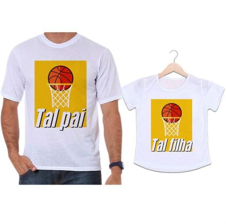 Camisetas Tal Pai Tal Filha Basquete