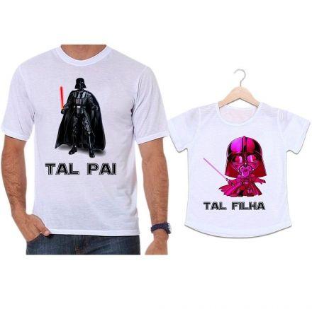 Camisetas Tal Pai Tal Filha Darth Vader