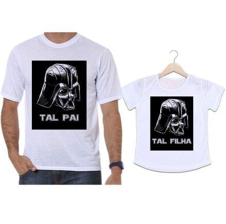 Camisetas Tal Pai Tal Filha Darth Vader Filme