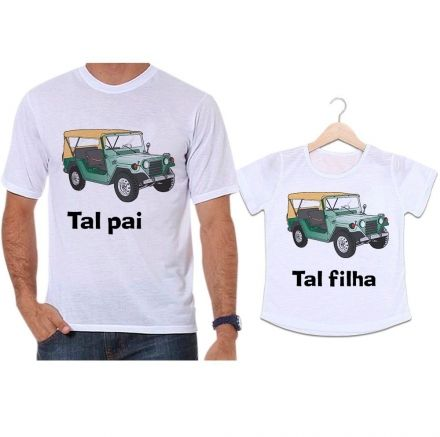 Camisetas Tal Pai Tal Filha Jeep Aventura