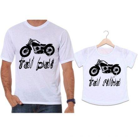Camisetas Tal Pai Tal Filha Moto Aventura