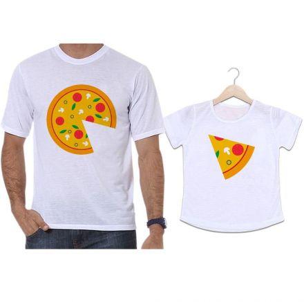 Camisetas Tal Pai Tal Filha Pizza