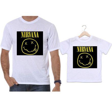 Camisetas Tal Pai Tal Filho Banda de Rock Nirvana