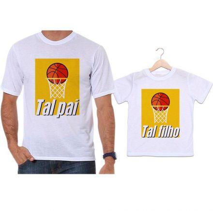 Camisetas Tal Pai Tal Filho Basquete