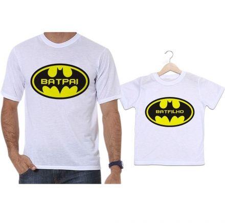 Camisetas Tal Pai Tal Filho Batman Batpai e Batfilho