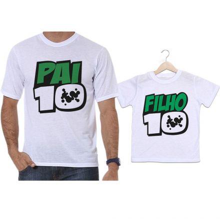 Camisetas Tal Pai Tal Filho Ben10 Pai10 e Filho10