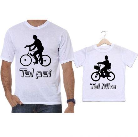 Camisetas Tal Pai Tal Filho Bicicleta Bike