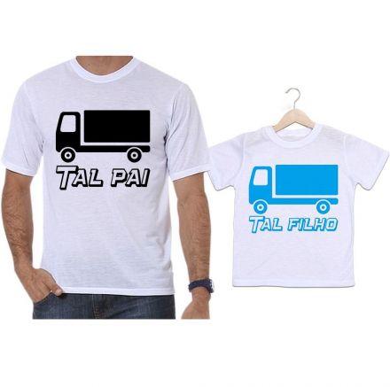 Camisetas Tal Pai Tal Filho Caminhão