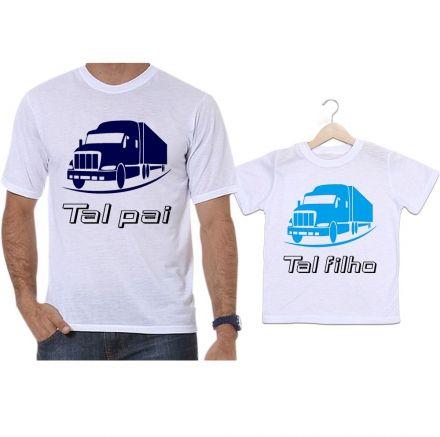 Camisetas Tal Pai Tal Filho Camioneiro