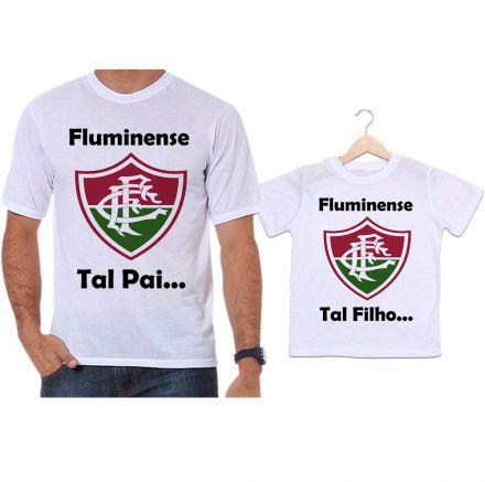 Camisetas Tal Pai Tal Filho Futebol Fluminense