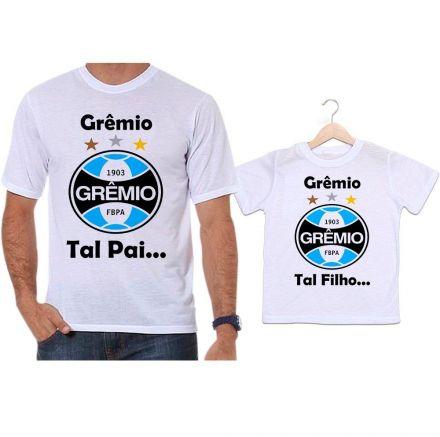 Camisetas Tal Pai Tal Filho Futebol Grêmio