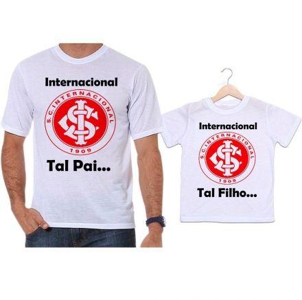 Camisetas Tal Pai Tal Filho Futebol Internacional