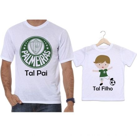 Camisetas Tal Pai Tal Filho Futebol Time Palmeiras