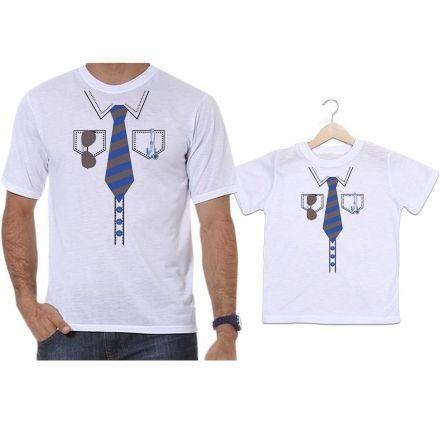 Camisetas Tal Pai Tal Filho Gravata