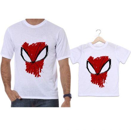 Camisetas Tal Pai Tal Filho Homem Aranha