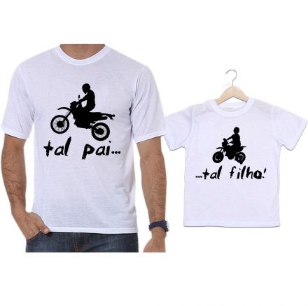 Camisetas Tal Pai Tal Filho Motocross