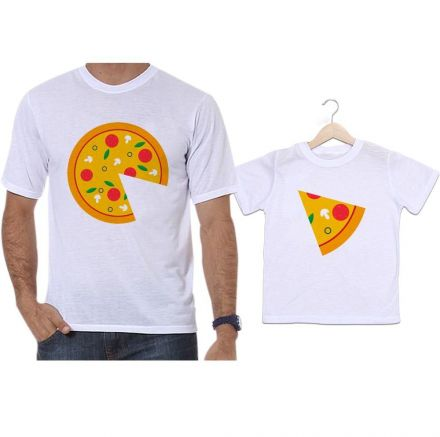 Camisetas Tal Pai Tal Filho Pizza