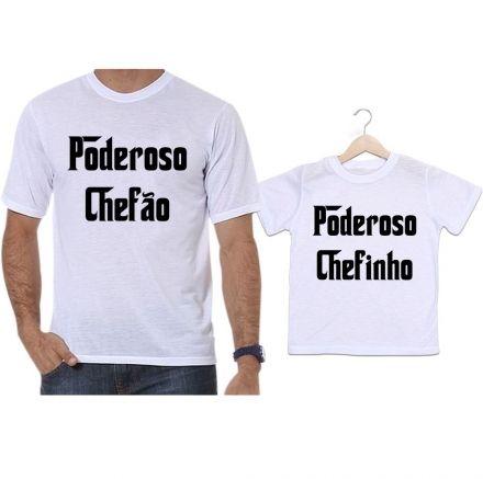 Camisetas Tal Pai Tal Filho Poderoso Chefão