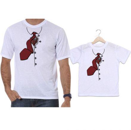 Camisetas Tal Pai Tal Filho Spider Man Homem Aranha Gravata