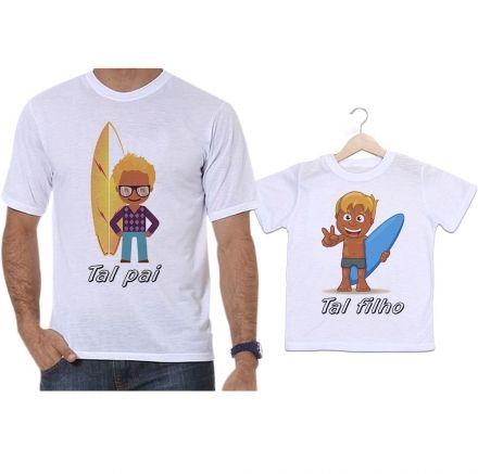 Camisetas Tal Pai Tal Filho Surfistas Aventura