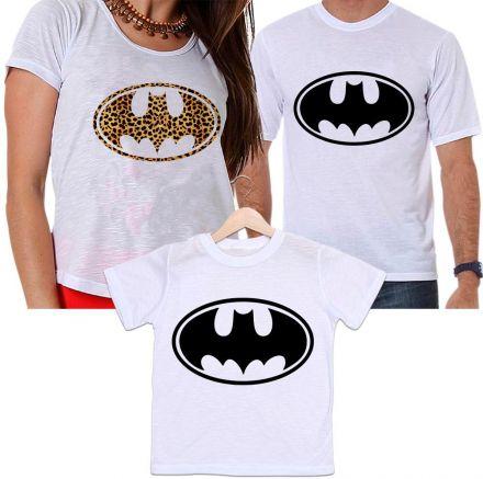 1fe149f9211e50 Camisetas Tal Pai, Tal Mãe e Tal Filho Batman