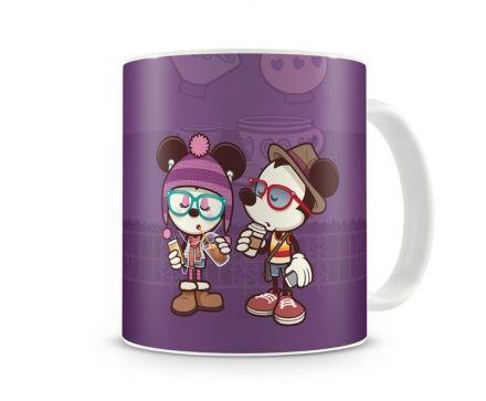 Caneca Mickey e Minnie Estilosos