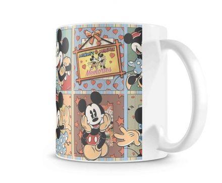 Caneca Mickey e Minnie Vintage