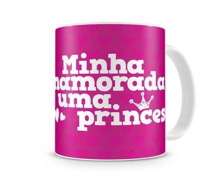 Caneca Minha Namorada É Uma Princesa