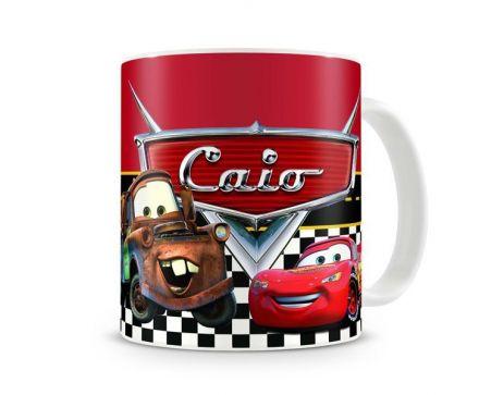 Caneca Personalizada Carros Disney