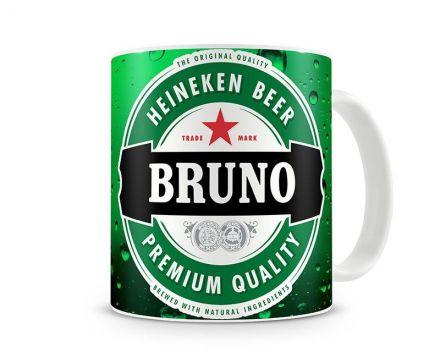 Caneca Personalizada Cerveja Heineken
