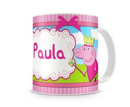 Caneca Personalizada Peppa Pig