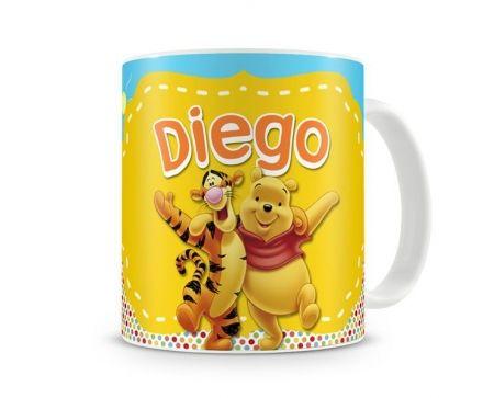Caneca Personalizada Ursinho Pooh