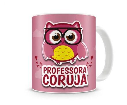Caneca Professora Coruja