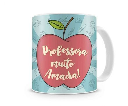 Caneca Professora Muito Amada!