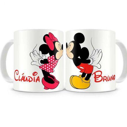 Canecas Personalizadas Mickey e Minnie