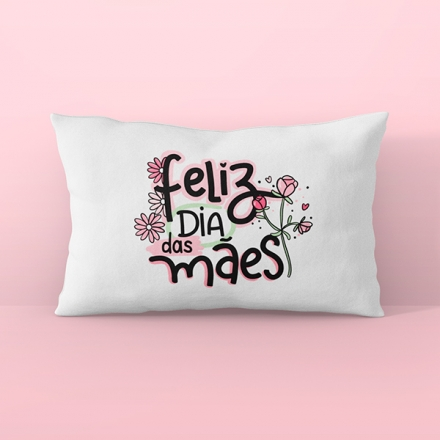 Fronha Avulsa Feliz Dia das Mães - CA1213