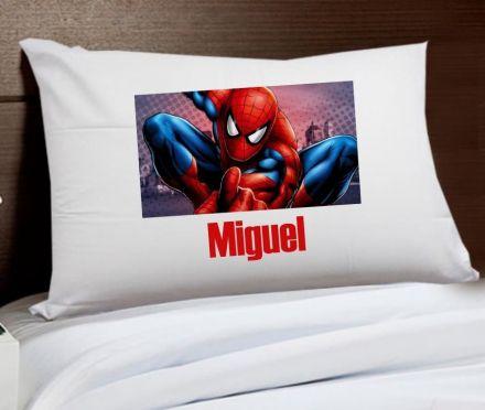 Fronha Personalizada Homem Aranha Com Nome