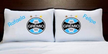 Fronhas Casal Personalizadas Grêmio Times de Futebol