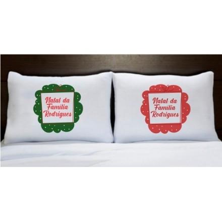 Fronhas Natal - CA1062