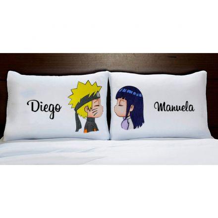 Fronhas Personalizadas Naruto e Hinata