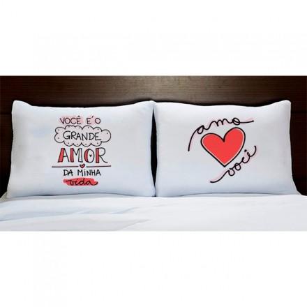 Fronhas Personalizadas Você é O Grande Amor da Minha Vida FR1103