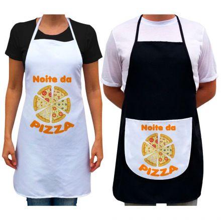 Kit Avental Noite da Pizza